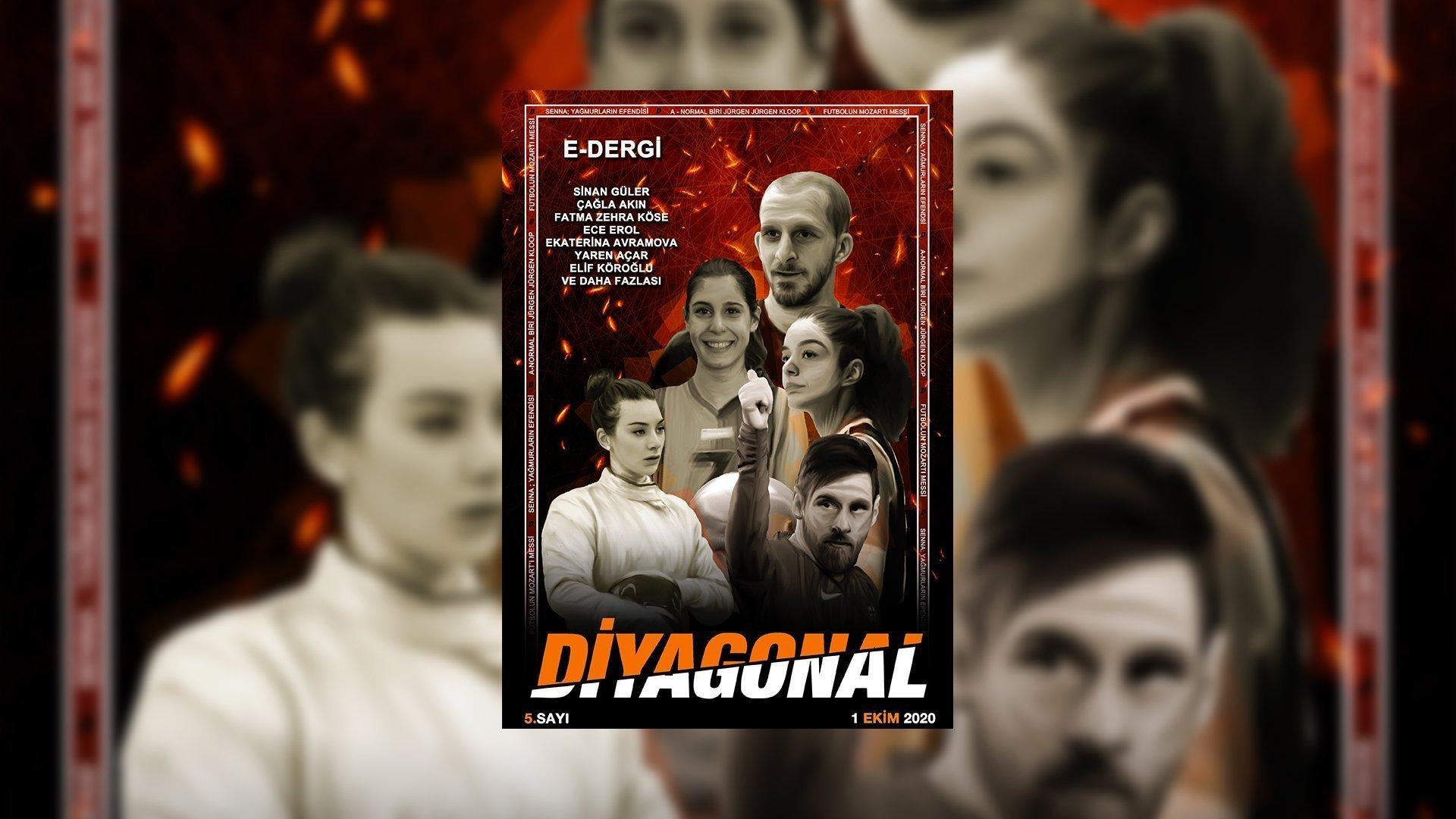 Diyagonal Dergi 5.Sayı - Ücretsiz Spor Dergisi Oku