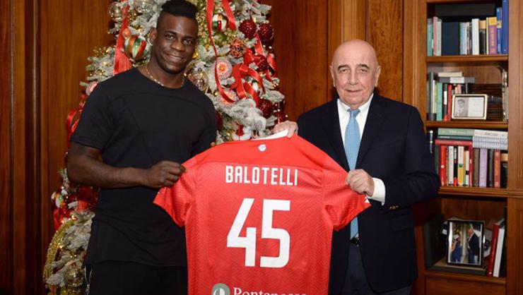 Mario Balotelli'den şaşırtan imza geldi - Diyagonal