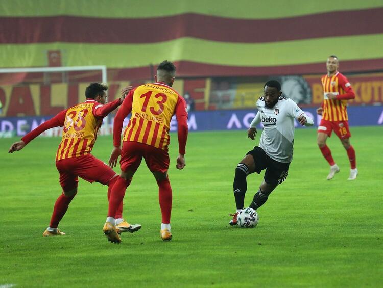 Kayserispor - Beşiktaş maç özeti 3 Ocak 2021